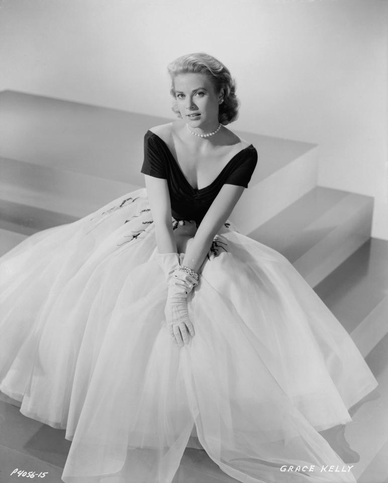 Grace Kelly was said to add a brown eye shadow along her eyebrows to define them. PHOTO: GETTY IMAGES