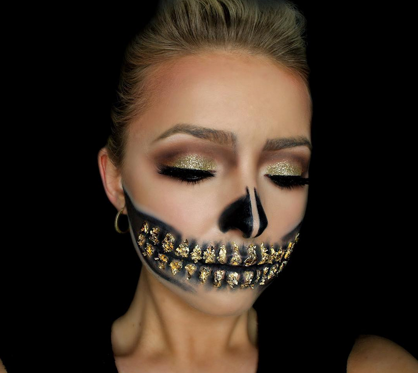 22 cute halloween makeup ideas for a glamorous take on the spooky night