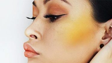 The Coolest Makeup Trend You Definitely Didn't See Coming