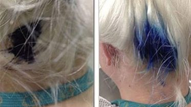 A Woman's Blue Pen Exploded in Her Hair One Week Before Her Wedding