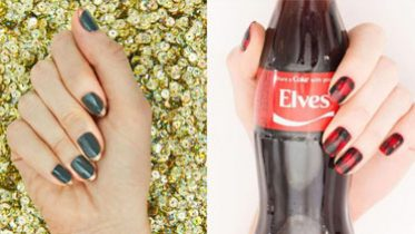 7 Holiday Nail Art Looks That'll Really Get You in the Spirit