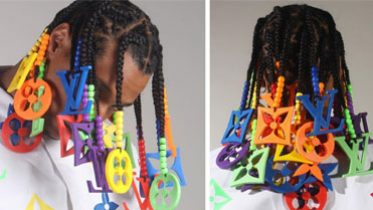 These Viral Louis Vuitton Braids Are Blowing Up on Instagram